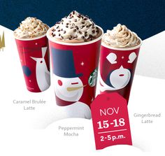 Starbucks: Buy 1 Holiday Drink Get 1 FREE (Any Size!)