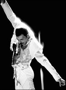 Freddie Mercury - Queen. I just can't get enough of him!! <3
