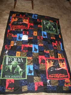 starwars quilt patterns | Craftgrrl - Where Crafters Unite! - Star Wars Quilt!!!