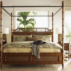 Tommy Bahama Home Island Estates Canopy Bed