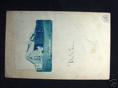 1906-RPPC-The-Lodge-Wood-River-Junction-RI-Cyanotype