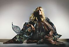 Kate Moss for Topshop by Nick Knight