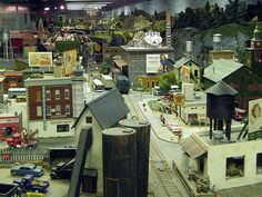 model railroad setups amazing - Google Search