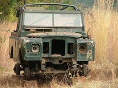 """Land Rover Series iia. """"My son and I purchased a 1971 in this shape and our mechanic refused to help with our  project. He was the smart one. BTW - he was pretty close to right when he told us at the end we would have a Series iia that was delivered one part at a time via FedEx."""" WEH"""