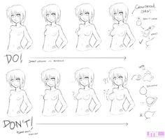 Short lesson in boobage by MLeth.deviantart.com on @deviantART