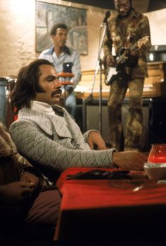 Superfly with Ron O'neal.  Soundtrack by Curtis Mayfield (1972)