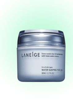Where It's From: Korea Ionized mineral water makes this powerful nighttime moisturizer a savior to even the most stressed-out skin. $23; target.com - MarieClaire.com