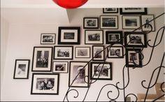 mur de cadre photo