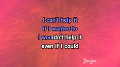Karaoke I Can't Help It - Michael Jackson *