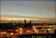 Paris Skyline, New York Skyline, Holland, Sunset, Travel, The Nederlands, Viajes, The Netherlands