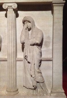 Sarcophagus of Crying Women, Istanbul Archeology Museum, Istanbul, Turkey.  #familynursing, #familyhealth, #familyhealing