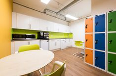 Concentrix, a global software and business services provider, required a fast track fit out throughout their new three-storey office. Color Blocking, Software, Track, London, Business, Fitness, Furniture, Design, Home Decor