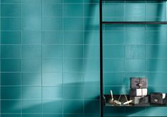 Double-fired ceramic wall tiles KIKO by Cooperativa Ceramica d'Imola, exclusive to ace stone + tiles. Glass Subway Tile, Ceramic Wall Tiles, Porcelain Tiles, Modern Ceramics, Bathroom Inspiration, Bathroom Ideas, Stone Tiles, Tile Design, Modern Bathroom