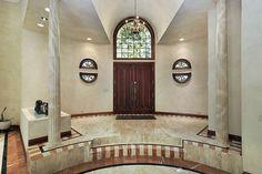 AMAZING FOYERS DESIGN AND DECORATION   Circular foyer entry with large window     bocadolobo.com/ #modernentryway #entrywayideas