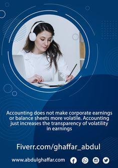 Accounting does not make corporate earnings or balance sheets more volatile. Accounting just increases the transparency of volatility in earnings #AG_Bookkeeping #bookkeeping_services_near_me #bookkeeping_firms_near_me #bookkeepers_near_me #bookkeeping_near_me #bookkeeping_companies_near_me #QuickBooks #Quickbooks_online #QBO #Bookkeeper #Bookkeepers #Bookkeeping