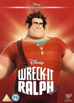 Wreck-It Ralph 2013 Limited Edition Artwork Sleeve DVD: Amazon.co.uk: DVD & Blu-ray