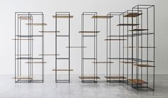 "TT3 by Ron Gilad. One of the most beautifull  ""Freestanding Shelving systems / Roomdividers"""