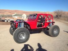 """YJ built by Moab 4x4 Outpost on 42s, 16"""" coilovers, and bypass shocks and 113"""" wheelbase"""