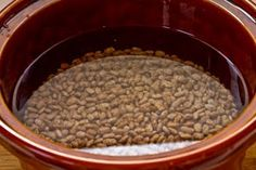 this is how I cook all my dried beans!! 3 to 5 hours in a crock pot and no soaking and stirring :) then I freeze them and use as needed. better than canned