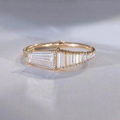 White Gold Diamond Wedding Band In Micro Pave Setting - 11 Stone White Diamonds Wedding Band - Diamond Stacking Ring - Fine Jewelry Ideas Diamond Stacking Rings, Diamond Jewelry, Jewelry Rings, Jewelry Accessories, Fine Jewelry, Gemstone Rings, Jewelry Design, Jewellery, Jewelry Box