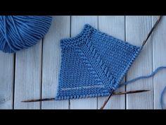 Регланная линия из 6 петель (реглан сверху) - YouTube Knitting Stiches, Knitting Videos, Baby Knitting Patterns, Knitting Socks, Hand Knitting, Stitch Patterns, Crochet Tablecloth, Knit Crochet, Aspen Mountain