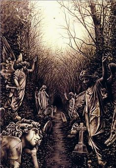"""ilustración de Victoria Frances. """"FAVOLE"""" es un canto al romanticismo gótico, una historia de pasiones inmortales narrada en imágenes que ilustran la estética de los más oscuros cuentos de hadas..."""