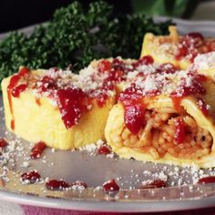 If you like omurice, you'll love this savory pasta roll.