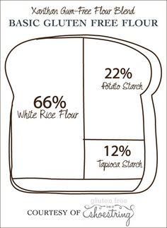 Basic gf bread flour ratio
