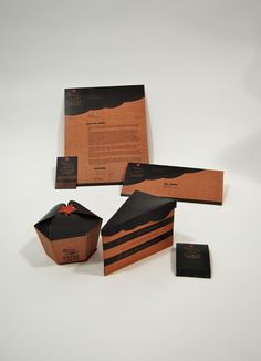♂ Packaging design for Wonderstruck Cakes by Sarah Coffey, via Behance