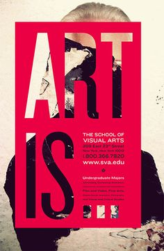 Poster - The School of Visual Arts