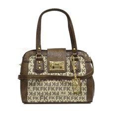 Bolsa de Mão FK Snake Felipe Krein BO20873 - Marrom 8304808cd3c