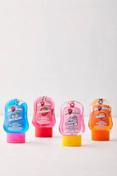 Candy Hand Sanitizer Novelty Toys, Novelty Gifts, Blue Strawberry, Keychain Clip, Public Bathrooms, Order Up, Hand Sanitizer, Vitamin E, Alcohol