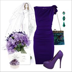 Wedding Guest, created by halebug-dcxxv on Polyvore