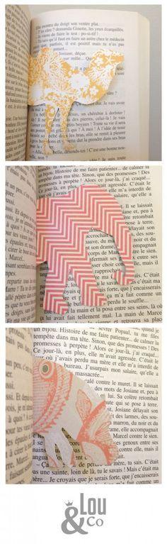 Tierisch schöne Lesezeichen. Liebglingstier auf hübsches Papier zeichnen, ausschneiden und fertig!