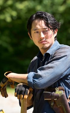 Even though he's dead, he's still my overall favorite character and Maggie is my favorite character still I'm the show. The Walking Dead season Glenn Glenn The Walking Dead, The Walk Dead, Walking Dead Season 6, Walking Dead Series, Glenn Y Maggie, Rip Glenn, Best Tv Shows, Best Shows Ever, Favorite Tv Shows
