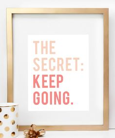 'The Secret' Print | zulily