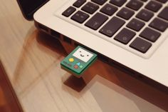 BMO 4GB usb flash drive - Adventure time laser cut acrylic beemo USB drive on Etsy, $21.50