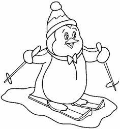 ausmalbilder zum ausdrucken   winter   pinterest   pinguine, ausmalen und ausmalbilder zum