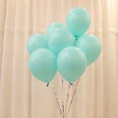 Tiffany Azul Balões 100 pc 10 Polegada Grosso 2.2g de Aniversário Balões Decorações de Casamento Ballons Globos Tiffany Azul Do Partido Por Atacado em Balões de Home & Garden no AliExpress.com | Alibaba Group