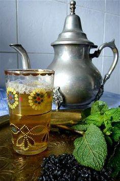 thé à la menthe marocain