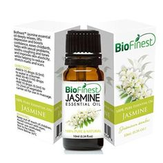 $3.99 (78% Off) on LootHoot.com - Jasmine Essential Oil - 100% Pure Undiluted - Therapeutic Grade - Premium Quality - Best For Aromatherapy, Deep Sleep, Stretch Marks and Dry Skins - Elegant Gift