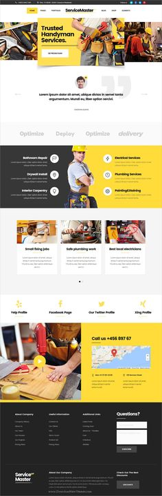 Service master is clean and modern design responsive #WordPress theme for #handyman #service business websites with 12+ niche homepage layouts download now >> https://themeforest.net/item/service-master-a-multiconcept-theme-for-service-businesses/19762990?ref=Datasata