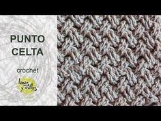 CURSO GRATIS CROCHET: Punto Celta paso a paso en video | Crochet y Dos agujas