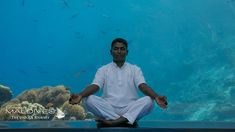 Meditation Underwater at restaurant 5.8 Hurawalhi Maldives