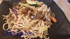 Sadepäivän pisaroita Spaghetti, Ethnic Recipes, Food, Essen, Meals, Yemek, Noodle, Eten