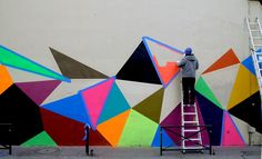 Matt W. Moore – MWM Graphics – Geometry Murals