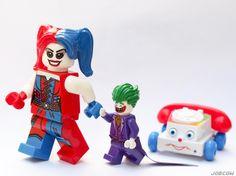 Mini Mr. J finds Harley's new phone rather amusing... . #chatterphone #superimpulsetoys #jokerandharley #lego #minifiguresbigworld #afol #legominifigures #toyslagram_lego #instalego #legostagram #brickcentral #legoart #legography #legogram #joecowlego #brickpichub #bricknetwork #toyartistry_lego #lego_hub #brickshift #vitruvianbrix #stuckinplastic #brickculture #toy_photographers #utahtoycrew #olympusem5