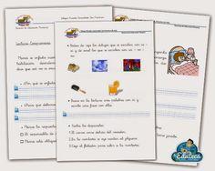RECURSOS PRIMARIA | Ejercicios y fichas de comprensión lectora para 1º de Primaria ~ La Eduteca