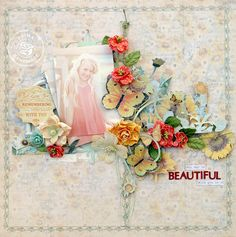 P April BAP Sun Kiss Collection Layout - Trudi Harrison WM