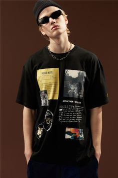 : Buy 2019 Graphics Print T Shirt Men Streetwear 2019 Short Sleeve T Shirts Men Harujuku Hip Hop Casual Women Tee Tops 8006 from Reliable T-Shirts suppliers on vaguestar Store Shirt Print Design, Tee Shirt Designs, Tee Design, Aesthetic Shirts, Aesthetic Clothes, Camisa Polo, Personalized T Shirts, Apparel Design, Printed Shirts